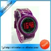 2012 new arrival and most fashion touch screen led watch