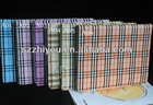 checkered leather stand case for ipad2 ipad3