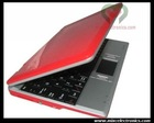 7 Inch Laptop WIFI VIA 8650 Notebook Computer Red Dropship