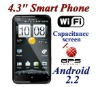 "4.3"" Touch Screen Android 2.2 Wifi TV GPS Smart Mobile Phone A1000"