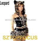 Popular Carnival Costume for Women Animal Dress Leopard