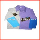 applique children's cotton T-shirt