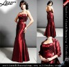 Sweetheart strapless taffeta Bride Dress with Jacket