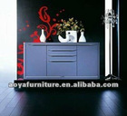 AY-ZR-H03 modern style high gloss shoe cabinet