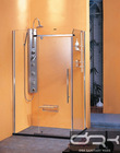 DRK4321 glass simple square shower cabin