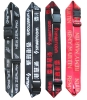 Polyester suitcase belts, woven customer's logo straps