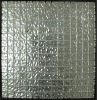 silver glass mosaic backsplash tile for wall decoration
