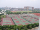 ITF certificate Tennis Court (PU and ACRYLIC acid material )