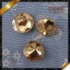 18L ABS button in gold color for shirt