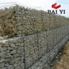 electro galvanized gabion box/pvc coated gabion box