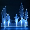 3V blue acrylic LED sculpture Christmas gift light