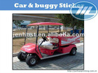 Vehicle body stickers design for buggy