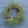 2012 Hot Selling Artificial Xmas Plastic Wreaths