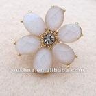 charming flower crystal rhinestone earring,stud earring