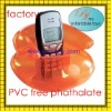 Promotional Plastic pvc air inflatable cellphone holder/mobile phone holder