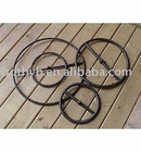 black steel/stainless steel fire rings for fire burner,fire pit,fire table,fire stove,fire bowl