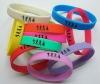 Lucky Silicone Bracelets Wrist Bands