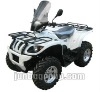 500CC CVT EEV 4wheels drive with rear box and windshield
