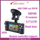 1280*1440 hd car dvr driver recorder