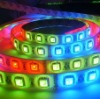 RGB 5050 coloured led flexible strip,NO water proof , DC12V ,60 LED/M