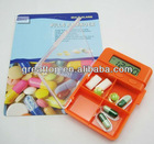 4 group alarm timer Plastic Electronic Pillbox timer