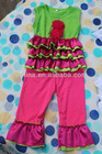 2013 New Arrivals baby girls outfits Lovely wholesale bodysuit/baby clothing