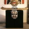 G086-30.73.82Beijing Opera Living Room Wooden Cabinet