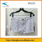 2012 fasion ladies short jeans