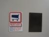 promotion pvc fridge magnet ,Flat PVC fridge magnet