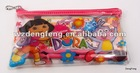 Cute Pvc Mesh Pencil Bag,Pen Bag
