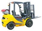 LPG forklift truck