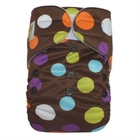 Onesize fit all new print baby cloth diaper