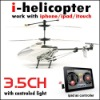 Iphone/iPod/iPad/iTouch RC I-helicopter, 3.5CH New RC Helicopter With 4 Styles