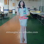 Advertising Statue Stand Up Banner