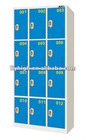 Steel Twelve Door Induction Locker Cabinet