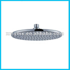 Chromed ABS waterfall top shower head