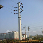 220kv Electric power transmission steel pole tower