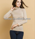 Fashion sillwarm basic shirt for woman