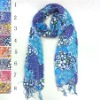 cotton scarves with tassel