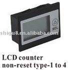 LCD counter non-reset type 1 to 4