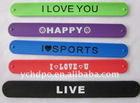 funny silicone bracelet job promotion gift 2012 promotion gift