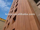 LESCO wpc composite wood outdoor wall cladding panel board