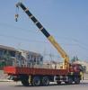 Mounted truck crane