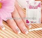 3D custom nail art sticker