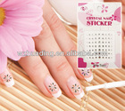 3D custom nail art sticker