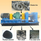 Tire granulator machinery waste tyre/tire recycling machine