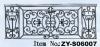 Stainless Steel Door Decoration ZY-DE010