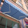 Exterior Retractable Fabric Awnings