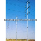 220 KV Wanghe Line Steel Tube Pole