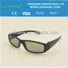 polarized3d glasses black theater circular video game movie dvd